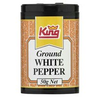 Ground White Pepper