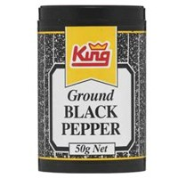 Ground Black Pepper